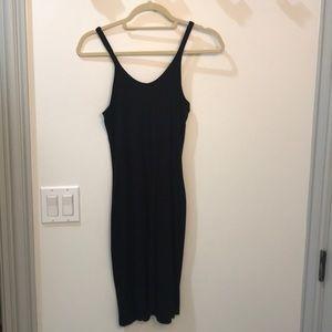 T Alexander Wang black tank dress.